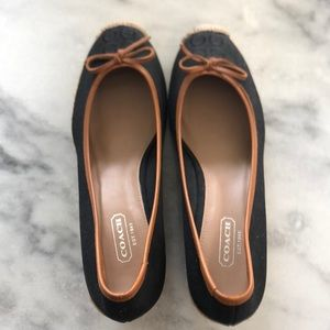 Coach wedge shoes